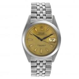 Vintage Rolex Oyster Perpetual Roulette Date Stainless Steel Jubilee Bracelet 6494