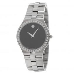 1.50 Carat Movado Juro Men's Watch in Stainless Steel 0605023