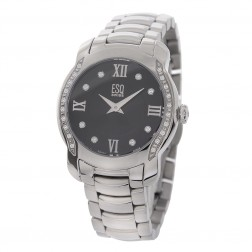 ESQ Swiss by Movado Ladies Verona Watch in Stainless Steel with Diamonds 07101205