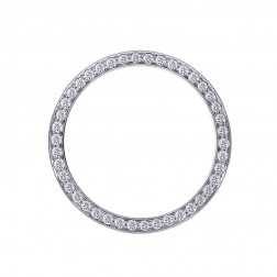 2.00 Carat Diamond Bezel for Rolex Stainless Steel 36mm