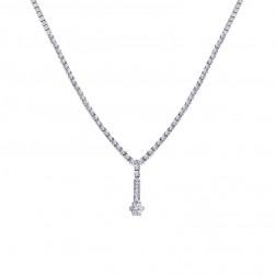 3.00 Carat Stunning Diamond Women Necklace