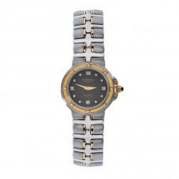 Raymond Weil 9990/DD Parsifal Two Tone Black Diamond Dial Watch