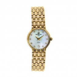 Raymond Weil 4702 Fidelio 18K Yellow Gold Plated MOP Dial Watch