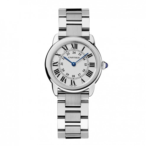Cartier Ronde Solo de Cartier Stainless Steel Ladies Watch on Bracelet W6701004