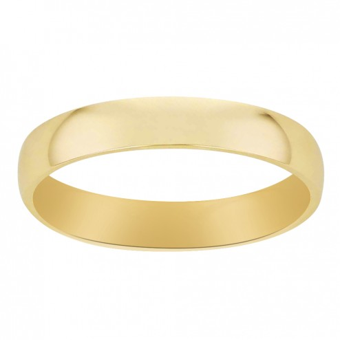 5.8 mm 14K Yellow Gold Men's Wedding Band