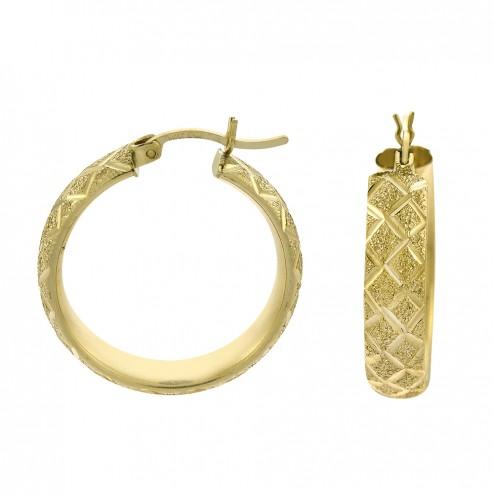 14k-yellow-gold-diamond-cut-elegant-round-hoop-earrings-5-6gram