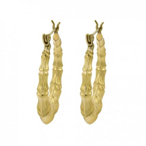 14k-yellow-gold-polished-bamboo-dangle-hoop-earrings-3-8gram