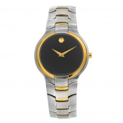 Movado Portico Yellow Gold Tone Stainless Steel Mens Watch 81 G1 1894