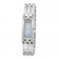 Movado Esperenza Stainless Steel Ladies Watch Mother of Pearl Dial 84 H5 1400