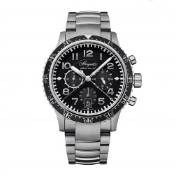 Breguet Type XXI Titanium Flyback Chronograph Watch on Bracelet 3810TI/H2/TZ9