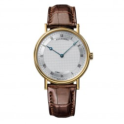 Breguet Classique 18K Yellow Gold Watch on Brown Leather Strap 5157BA/11/9V6