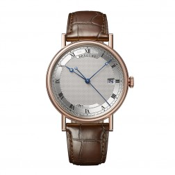 Breguet Classique Automatic 18K Rose Gold Watch on Leather Strap 5177BR/15/9V6