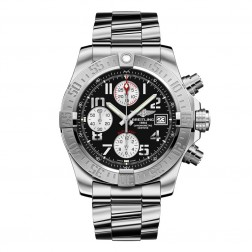 Breitling Avenger II Stainless Steel Chronograph Watch Arabic Dial A1338111/BC33