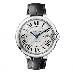 Cartier Ballon Bleu de Cartier Stainless Steel 42mm Watch on Strap W69016Z4