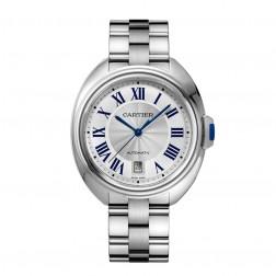 Cartier Clé de Cartier Stainless Steel Watch on Bracelet WSCL0007