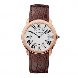 Cartier Ronde Solo de Cartier 18K Rose Gold & Steel Watch W6701008