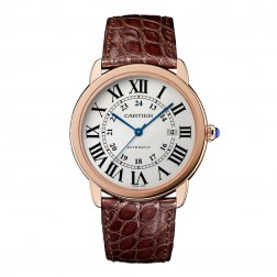 Cartier Ronde Solo de Cartier 18K Rose Gold & Steel XL Watch W6701009