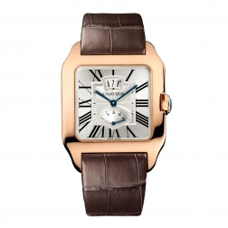 Cartier Santos-Dumont 18K Rose Gold Power Reserve Watch W2020067