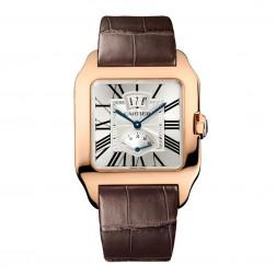 Cartier Santos-Dumont 18K Rose Gold Power Reserve Watch W2020067