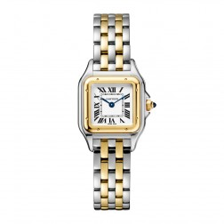 Cartier Panthère de Cartier Steel & 18K Yellow Gold Small Size Watch W2PN0006