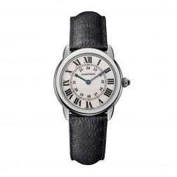 Cartier Ronde Solo de Cartier Stainless Steel Ladies Watch on Strap WSRN0019