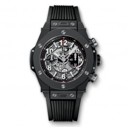 Hublot Big Bang Unico Black Magic Ceramic Chronograph Watch 411.CI.1170.RX