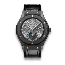 Hublot Classic Fusion Aerofusion Black Magic Ceramic Watch 517.CX.0170.LR