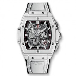 Hublot Spirit of Big Bang White Ceramic Chronograph Watch 601.HX.0173.LR