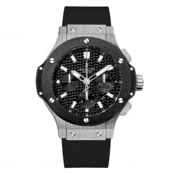 Hublot Big Bang Stainless Steel Chronograph Watch Ceramic Bezel 301.SM.1770.RX
