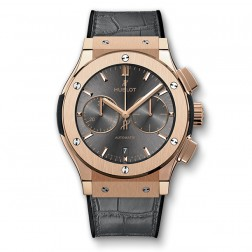 Hublot Classic Fusion King Gold 18K Rose Gold Chronograph Watch 521.OX.7081.LR