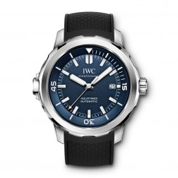 IWC Aquatimer Jacques Cousteau Steel Divers Watch Blue Dial IW329005
