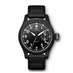 "IWC Big Pilot ""Top Gun"" Black Ceramic Watch IW502001"
