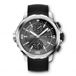 IWC Aquatimer Chronograph Sharks Edition Stainless Steel Divers Watch IW379506