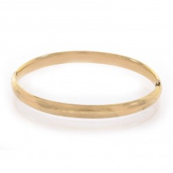 Baby's 14K Yellow Gold Classic Bangle Bracelet