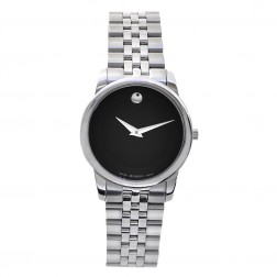 Movado Museum Classic Stainless Steel Ladies Watch 0606505
