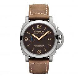 Panerai Luminor Marina 1950 3 Day Titano 44mm Titanium Watch PAM01351