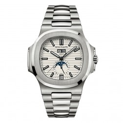 Patek Philippe Nautilus Annual Calendar Moonphase Stainless Steel Watch 5726/1A-010