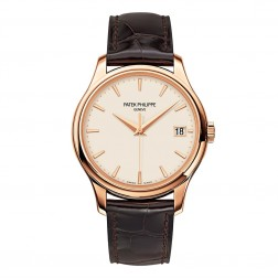 Patek Philippe Calatrava 18K Rose Gold Watch 5227R
