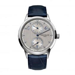 Patek Philippe Complications 18K White Gold Regulator Calendar Watch 5235G-001