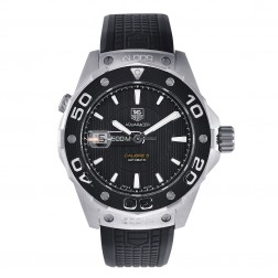 TAG Heuer Aquaracer Calibre 5 Stainless Steel Diver Watch WAJ2110.FT6015