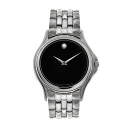 Movado Museum Stainless Steel Mens Watch 84 E4 0863