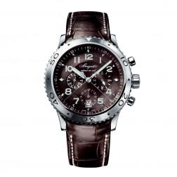 Breguet Type XXI Stainless Steel Flyback Chronograph Watch 3810ST/92/9ZU