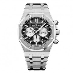 Audemars Piguet Royal Oak Stainless Steel Chronograph Watch Black Dial 26331ST.OO.1220ST.02
