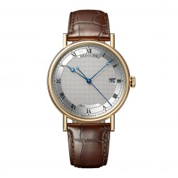 Breguet Classique Automatic 18K Yellow Gold Watch on Leather Strap 5177BA/15/9V6
