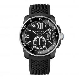 Cartier Calibre de Cartier ADLC Stainless Steel Divers Watch WSCA0006