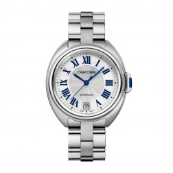 Cartier Ladies Clé de Cartier 35mm Stainless Steel Watch on Bracelet WSCL0006