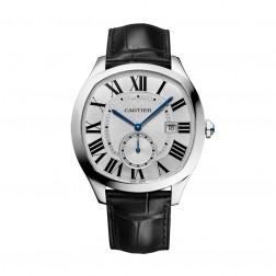 Cartier Drive de Cartier Stainless Steel Watch Silver Dial WSNM0004