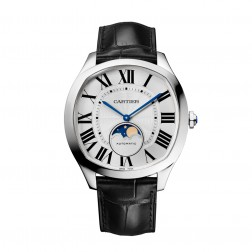 Cartier Drive de Cartier Stainless Steel Moon Phase Watch WSNM0008