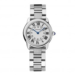Cartier Ronde Solo de Cartier Stainless Steel Ladies Watch on Bracelet W6701004