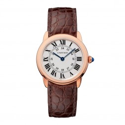 Cartier Ronde Solo de Cartier 18K Rose Gold & Steel Ladies Watch W6701007